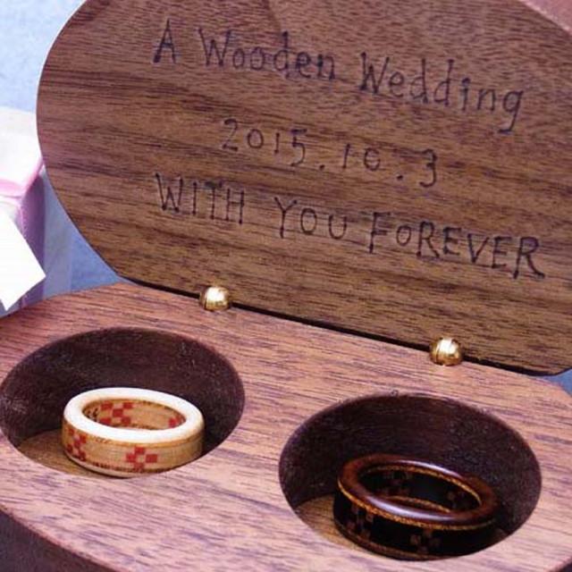 木の指輪屋さん