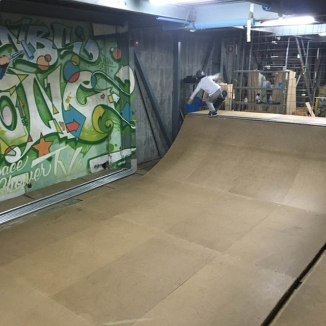 NQSスケートボードパーク iS OLLiES
